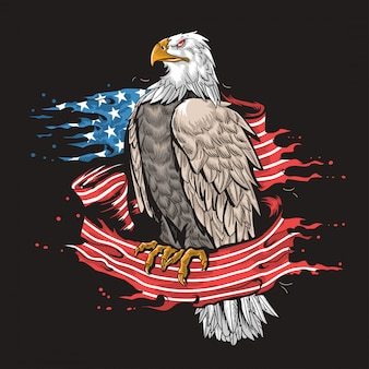 Eagle usa army art