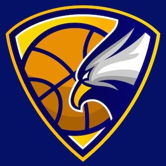 Логотип эмблемы баскетбольного клуба eagle