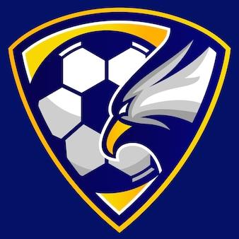 Логотип эмблемы футбольного клуба eagle