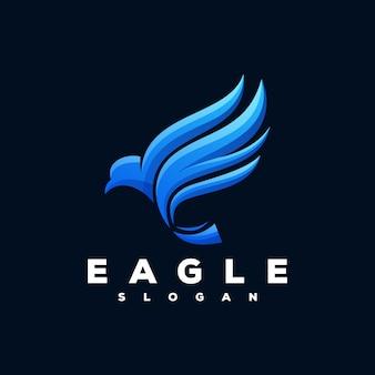 Логотип eagle готов к использованию