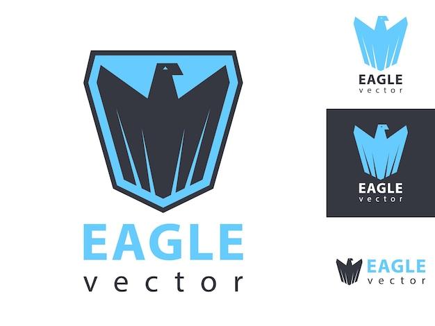 Eagles logo vector. eagle scout badge icon.