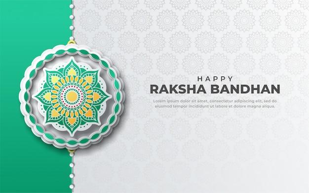 幸せeaksha bandhanグリーティングカード