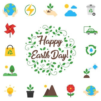 Earth day elements