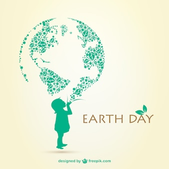 Earth day illustrazione