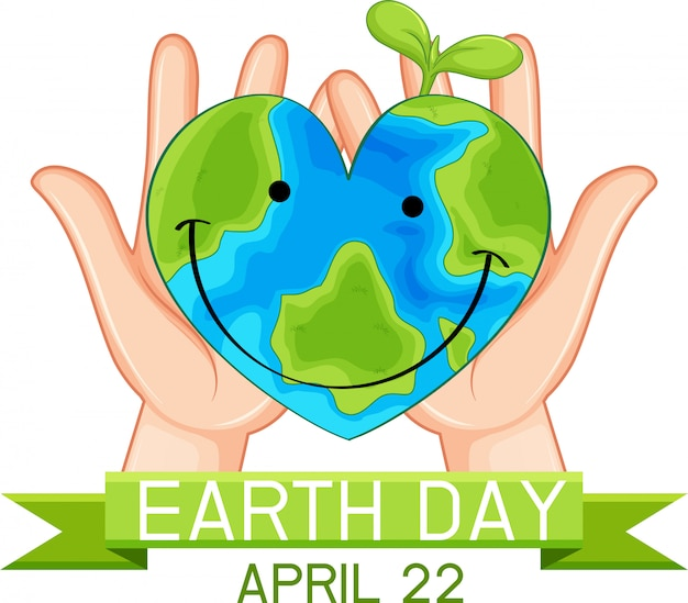 Earth day poster concept