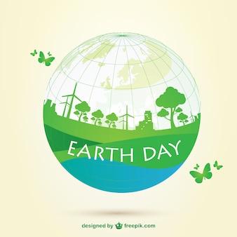 지구의 날 벡터