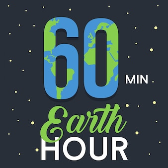 Earth hour background