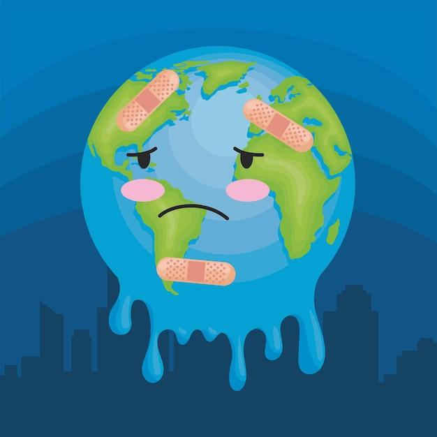 地球が溶ける性質