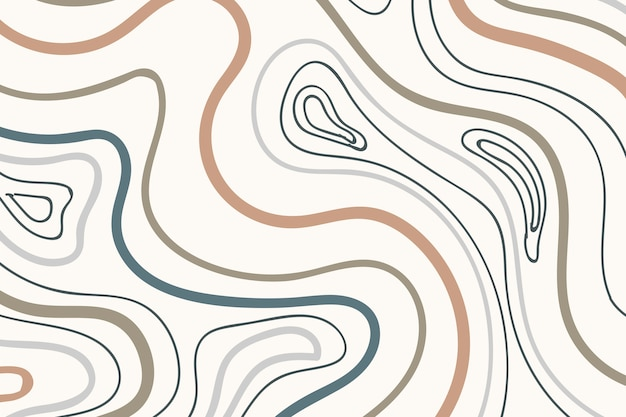 Earth tone patterned background