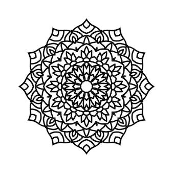 簡単に編集およびサイズ変更可能な曼荼羅の背景