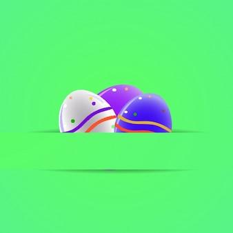 Easter background design