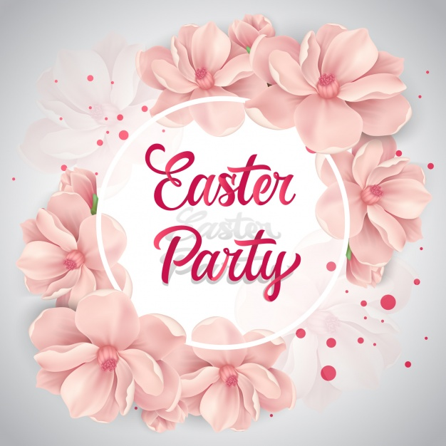 Easter background design