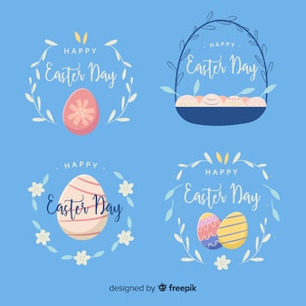 Easter badge collection