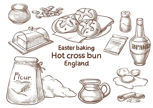 Easter baking.
