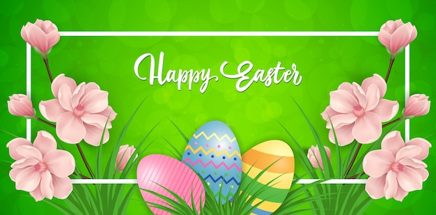 Easter banner design