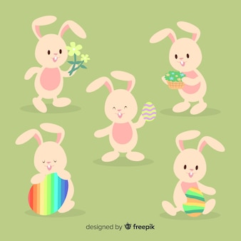 Easter bunny collection