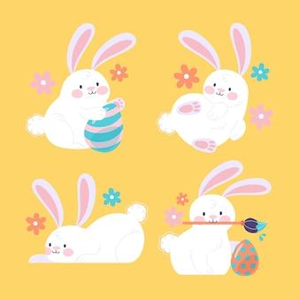 Коллекция пасхальных кроликов