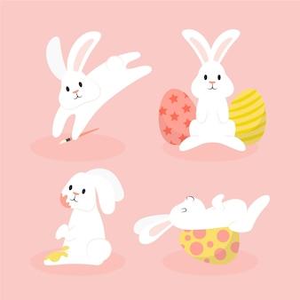 부활절 토끼 세트