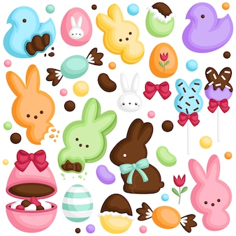 Easter candy set