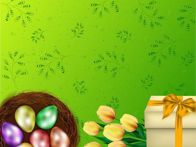 Easter celebration background