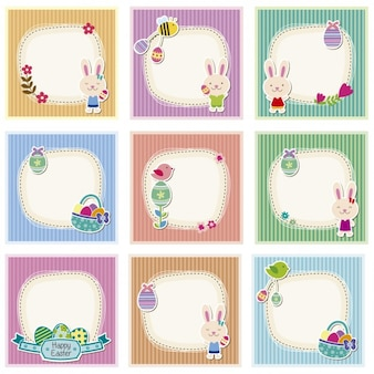 Easter cute cards