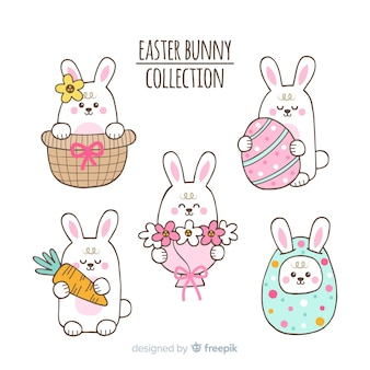 Easter day bunny collection