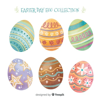 Easter day egg collection
