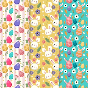 Easter day flat pattern collection