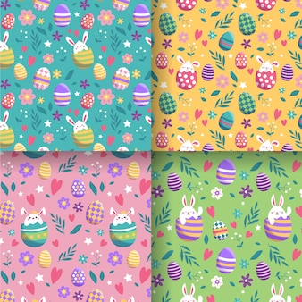 Easter day flat pattern set