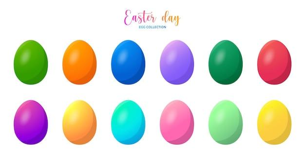 イースターデーグラデーション卵コレクション