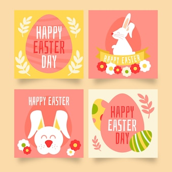 Easter day instagram post pack
