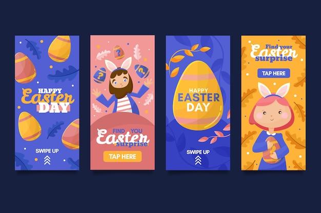 イースターの日instagramストーリーコレクション