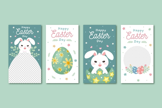 Easter day instagram stories pack