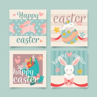 Easter day instragram post set