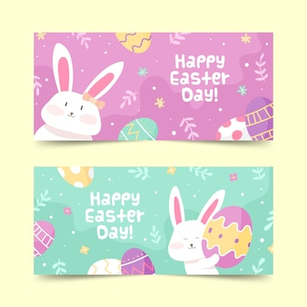 Easter day theme for banners