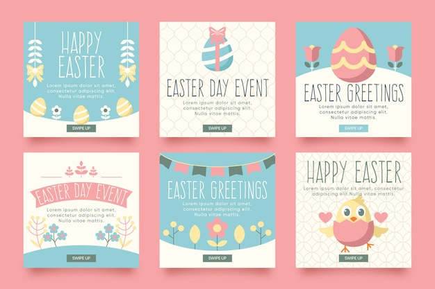 Easter day theme for instagram posts