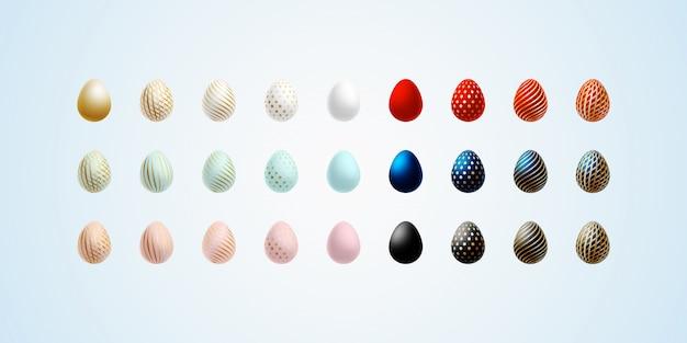 Пасхальное яйцо яркое современное расписное яйцо люкс для пасхального набора