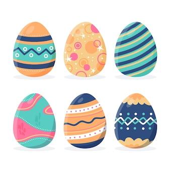 Collezione di uova di pasqua