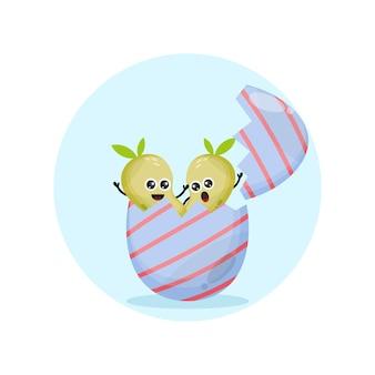 Пасхальное яйцо манго