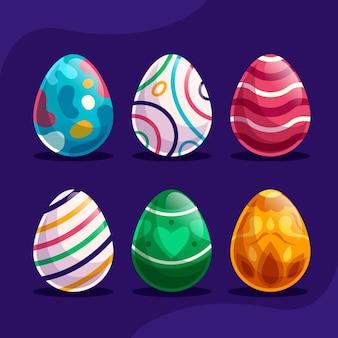 Confezione di uova di pasqua