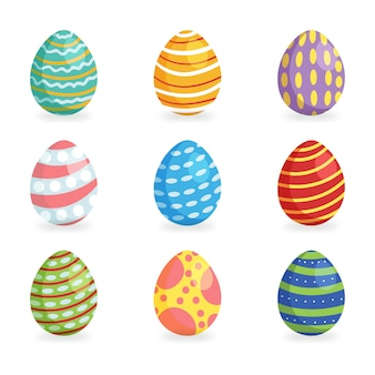 Easter eggs for easter holidays design