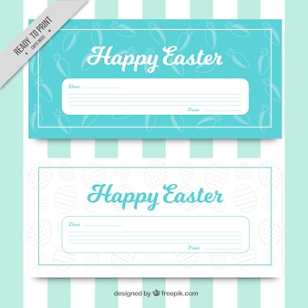Easter greeting in vintage style