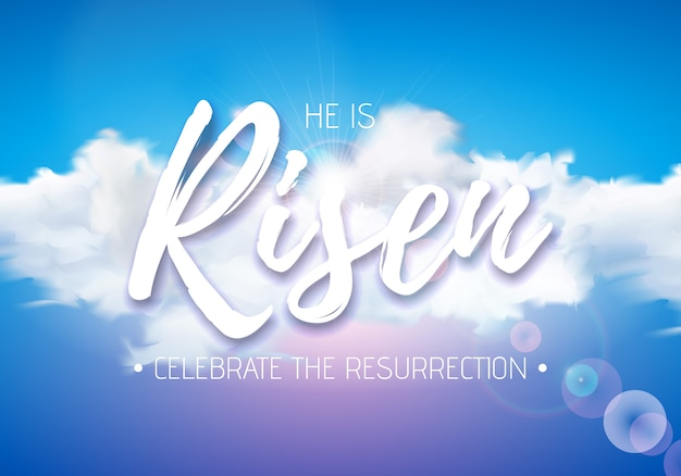 Easter holiday illustration
