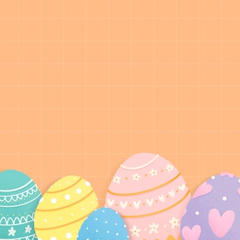 Easter holiday themed design space