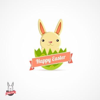 Easter logo illustration