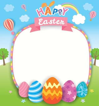 Easter-nature-template