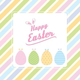 Easter pastel background