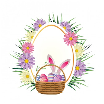 Easter rabbit cartoon