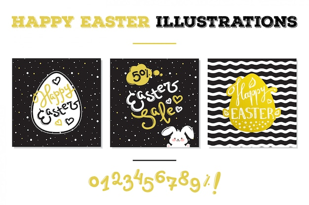 Easter sale cards
