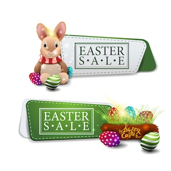 Easter sale discount banner